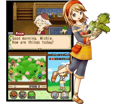 مراجعة)harvest moon the tale of two towns